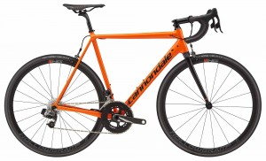 Rower Cannondale CAAD 12 Red eTap orange 2018