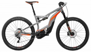 Rower Cannondale Moterra AM 2 gray/orange 2018