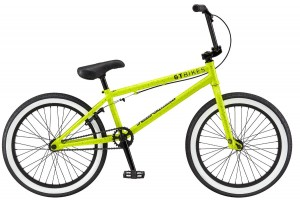 "Rower GT BMX Performer 20,5"" gloss neon yellow splat 2017"