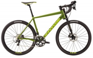 Rower Cannondale Slate 105 Disc army green  2017