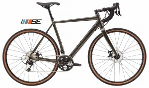 Rower Cannondale CAADX 105 SE anthracite 2018
