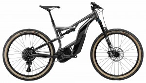 Rower Cannondale Moterra AM SE r. L gray/jet black 2018
