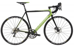Rower Cannondale Super Six Evo Hi-MOD Disc Ultegra green/black 2017