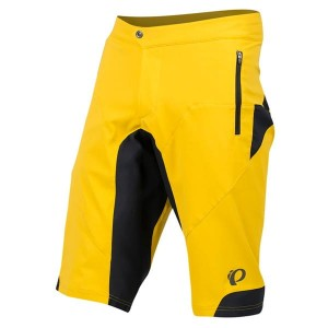 Spodenki rowerowe Pearl Izumi Summit yellow curry/black