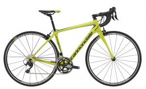 Rower Cannondale Synapse Carbon Women's 105 neon spring 2017