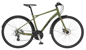 Rower GT Traffic 2.0 military green/reflective orange 2017
