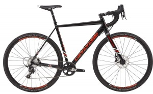 Rower Cannondale CAADX Apex 1 black/acid red 2017