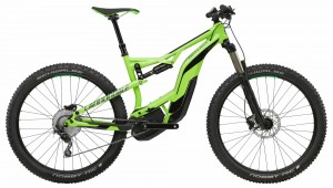 Rower Cannondale Moterra AM 3 green/jet black 2018
