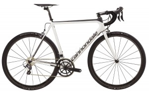 Rower Cannondale Super Six Evo Hi-MOD Ultegra r. 54cm white/black 2017