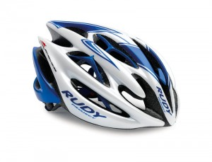Kask rowerowy Rudy Project Sterling white/blue r. S/M