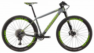 Rower Cannondale F-Si Hi-Mod Team gray/acid green 2018