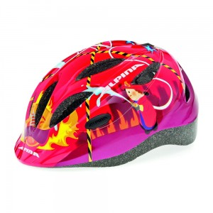 Kask rowerowy Alpina Gamma 2.0 red firefighter r. 46-51