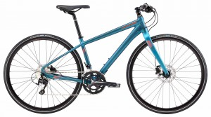Rower Cannondale Quick 1 Disc Women's deep teal/acid red 2018