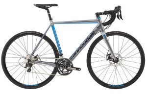 Rower Cannondale CAAD Optimo Disc 105 gray/blue 2017