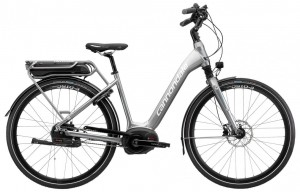 Rower elekt. Cannondale Mavaro Performance 1 City grey 2017
