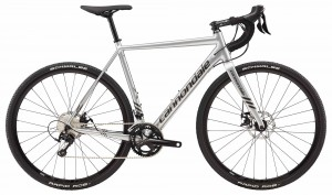 Rower Cannondale CAADX 105 silver 2018