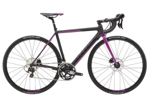 Rower Cannondale SuperSix Evo Women's 105 Disc black/purple 2017