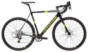 Rower Cannondale SuperX Force 1 jet black/gray/volt 2018