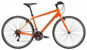 Rower Cannondale Quick 6 orange 2018