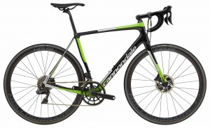 Rower Cannondale Synapse Hi-Mod Disc Dura Ace Di2 jet black/green/silver 2018