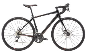 Rower Cannondale Synapse Women's Tiagra Disc black 2017