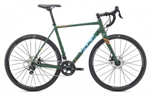 Rower Fuji Cross 1.7 r. 54cm satin forest green/sky blue 2017