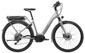 Rower elekt. Cannondale Mavaro Performance 3 City grey 2017