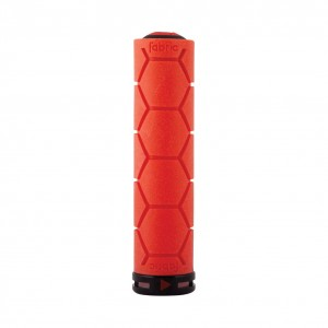 Chwyty Fabric Silicone Lock On red