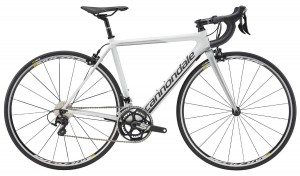 Rower Cannondale SuperSix Evo Women's 105 white  2017