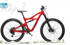 Rower Ibis Mojo 3 Special Blend 1X corinthian red 2017