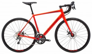 Rower Cannondale Synapse Disc Tiagra acid red 2018