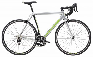 Rower Cannondale CAAD Optimo 105 silver/green 2018