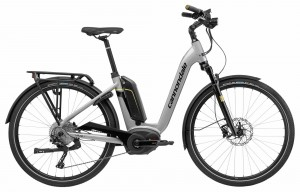 Rower Cannondale Mavaro Neo City 1 gray 2018