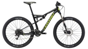 Rower Cannondale Habit 6 black/neon spring 2017