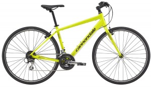 Rower Cannondale Quick 7 neon spring 2017