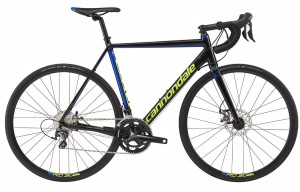 Rower Cannondale CAAD Optimo Disc Tiagra black/blue/volt 2017