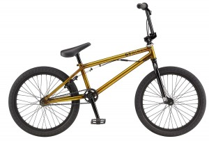 Rower GT BMX Slammer transparent gold 2017