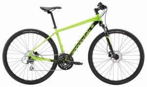 Rower Cannondale Quick CX 4 acid green/jet black 2018