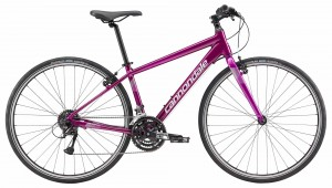 Rower Cannondale Quick 6 Women's purple 2018