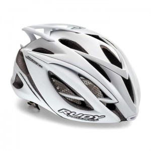 Kask rowerowy Rudy Project Racemaster White Stealth r. S/M