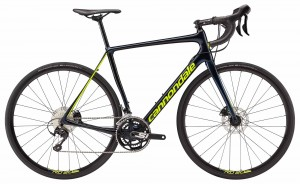 Rower Cannondale Synapse Carbon Disc 105 midnight blue/volt 2018