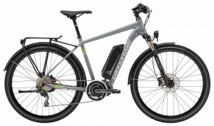 Rower Cannondale Quick Neo Tourer gray/silver 2018