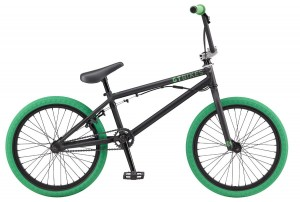 Rower GT BMX Slammer satin black/green 2017