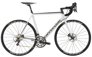 Rower Cannondale Super Six Evo Hi-MOD Disc Ultegra white/black 2017