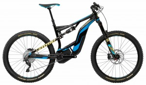 Rower Cannondale Moterra LT 2 jet black/ultra blue 2018