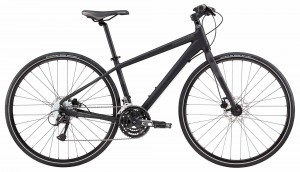Rower Cannondale Quick 5 Disc Women's jet black 2018
