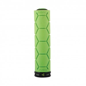 Chwyty Fabric Silicone Lock On green