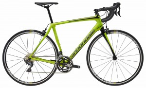 Rower Cannondale Synapse Carbon Ultegra acid green/jet black  2018