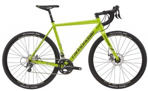 Rower Cannondale CAADX Tiagra acid green 2017