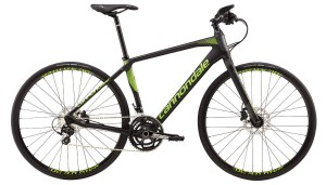 Rower Cannondale Quick Carbon 1 black/green 2017